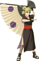 Temari Render by xUzumaki