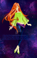Disko Gyrl 01 of 30 by Asher-Bee