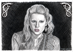 Lagertha Lothbrok decisions by Brandebuque