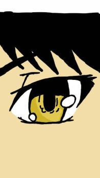 Basic anime eye by KarKatCaptor1