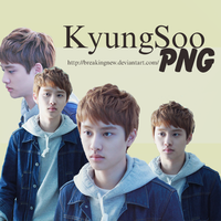 Do KyungSoo - EXO PNG // by BNew~ by BreakingNew