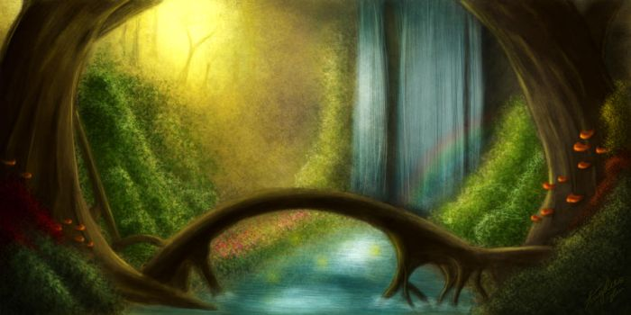 Fairy Forest by Raederly