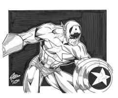 Another Captain America by r-i-p-p-l-e