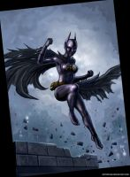 It's The Batgirl! by SirTiefling