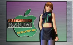 Kasumi New Costume - Wallpaper by iFab