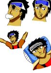 another sticker making of my main character..Issac by tierskie88