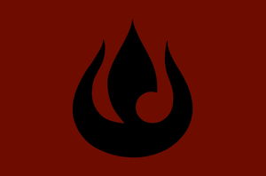 Fire Nation Flag by The-Artist-64