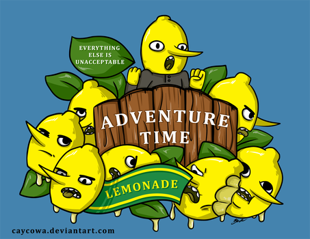 Adventure Time - Lemonade Time by caycowa