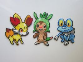 Pokemon Starters No. 6 by 8-BitBeadsStudio