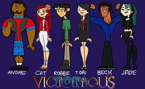 Total Drama Victorious by BringThaNoize1988