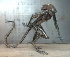 Another view of Alien by Steelspike