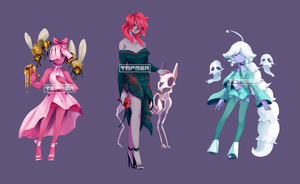 Poisonous Flower Adopts {CLOSED} by torain-adopts