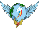 Rainbow Dash Coat of Arms by Lord-Giampietro