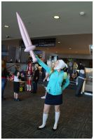 Youmacon 2011: Fionna the human by LadyEmrys