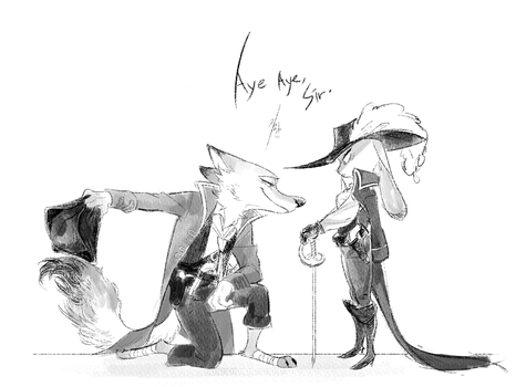 Pirates Of The Zootopia by Ganym0