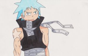 Black Star (copic markers) by XxxHimari-chanxxX