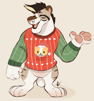 Sweater Dad by Pastel-Core