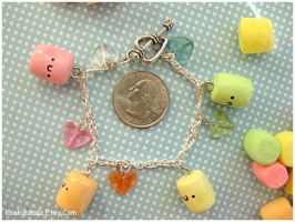 Color Marshmallow Bracelet IV by sunnyxshine