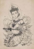 Lady of Ayothaya by In-Sine