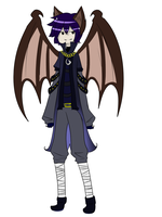 Koumori the vampire bat. by z-o-k-i