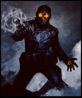 Lobster Johnson by bumhand