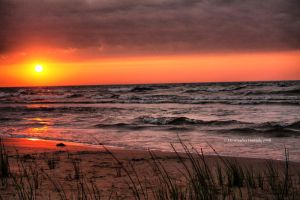 Manistique Sunrise by Originalbossman