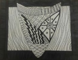 Zentangle Shield by TheSaviorAlchemist