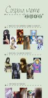 Cosplay Meme 2015 by S-Lancaster