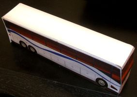 Papercraft Charter Bus by JordanGreywolf