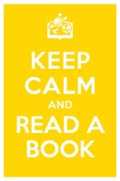 KEEP CALM AND READ A BOOK by manishmansinh