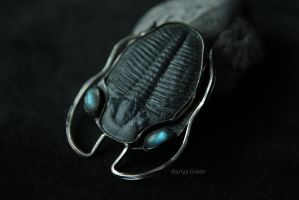 Ghost trilobite by omegaptera