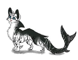 Tigershark (Seriously) by Leopard-Gryphon