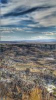 Hell's Half Acre Wyoming by Corvidae65