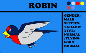 Robin the Taillow by TheChiefofTime
