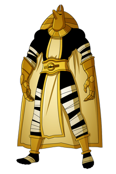 Grand Champion,The Mysterious Pharaoh by Galactic-Travailler