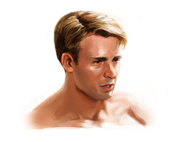 Portrait Study: Chris Evans by zhengzhou