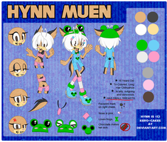 Hynn Reference 2011 by Kero-Cakes