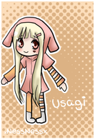 New Oc,Usagi by XNessNessX