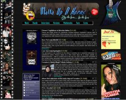 Heavy Metal Webzine by mangion