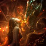 Smoke Kiss by Vitaly-Sokol