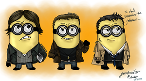 Despicable Supernatural by betterDeadthanRED
