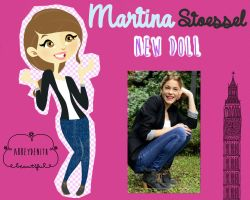 Martina Stoessel DOLL by AbbeyDenith