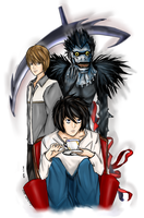 Death Note: A Battle of Minds by paper-and-stars