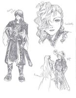 Suikoden Sketch 2 by flame-champ