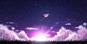paperplane by YumiKF