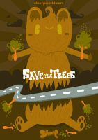 Save the Trees by SloorpWorld