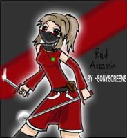 The Red Assassin Reira by sonyscreens