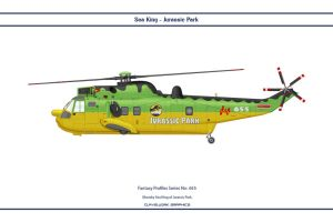 Fantasy 655 Sea King Jurassic Park by WS-Clave
