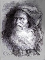 Tiepolo Portrait Study by SILENTJUSTICE