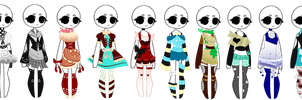 SP Outfit Adopts (4/10 OPEN) by ImaginationTrap